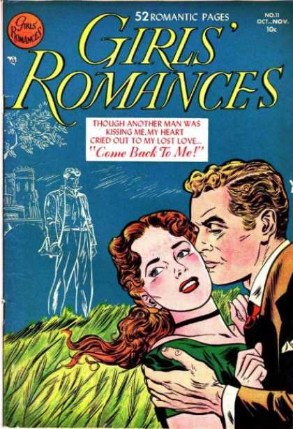 Girls' Romances 11 - Woman - Kissing - Love - Redhead - Blonde