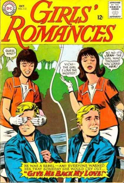 Girls' Romances 112 - Trees