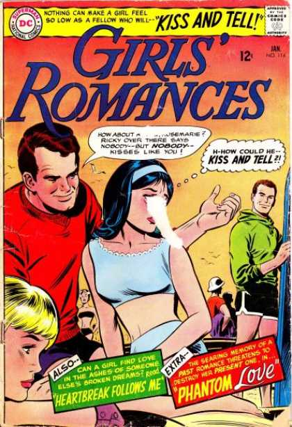 Girls' Romances 114 - Athletic Vs Romantic - Dream Love - 2 Man And A Woman - Dilemma Of The Young Lady - My Name Is Romance