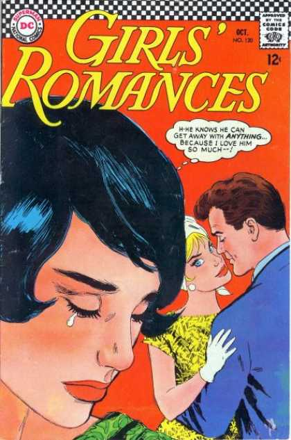 Girls' Romances 120 - Superman National Comics - Approved By The Comics Code - Woman - Man - Because I Love Him So Much