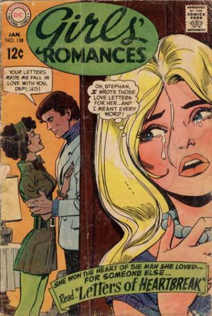 Girls' Romances 138 - Love