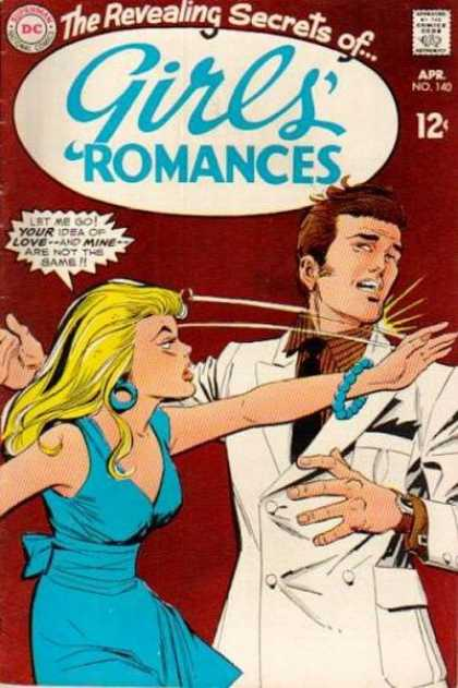 Girls' Romances 140 - Dc - Superman - National Comics - Approved By The Comics Code Authority - Apr