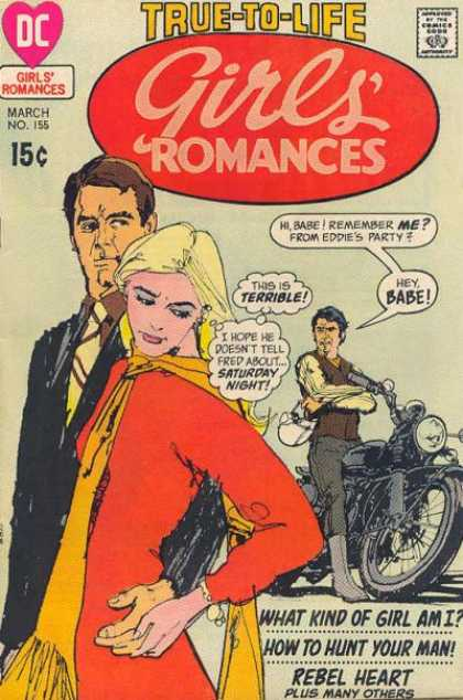 Girls' Romances 155 - Motorcycle