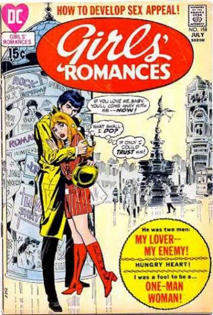 Girls' Romances 158 - London - Woman - Heart - Man - City