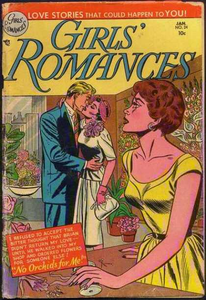 Girls' Romances 24 - Flowers - Orchids - Stories - Brian - Shop