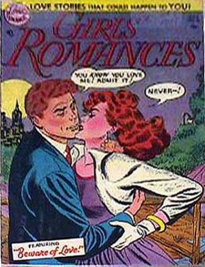 Girls' Romances 26 - Love Stories - Kiss - Woman - Man - Park