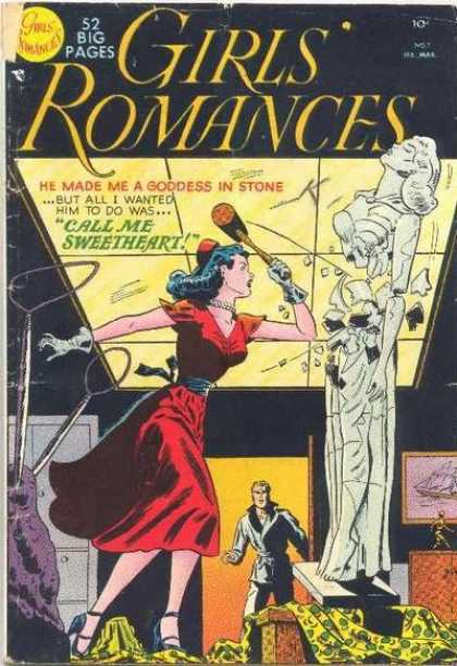 Girls' Romances 7 - Statue - Hammer - Call Me Sweetheart - Sledgehammer - Goddess