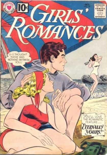 Girls' Romances 79 - Beach - Girls Romances - Youll Love The Romantic Feature - Eternally Yours - Man And Woman