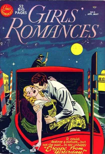 Girls' Romances 8 - Over The Moon - Affairs Of The Heart - Love In The Air - The Little Temptress - Adorable Adonis