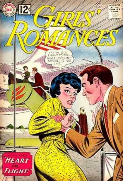 Girls' Romances 87 - Let Go I Will Miss The Peanuts - You Can Not Get On Its Airforce One - Let Go I Want A Window Seat - I Must Go I Need The Miles - I Dont Like Men With Red Hair