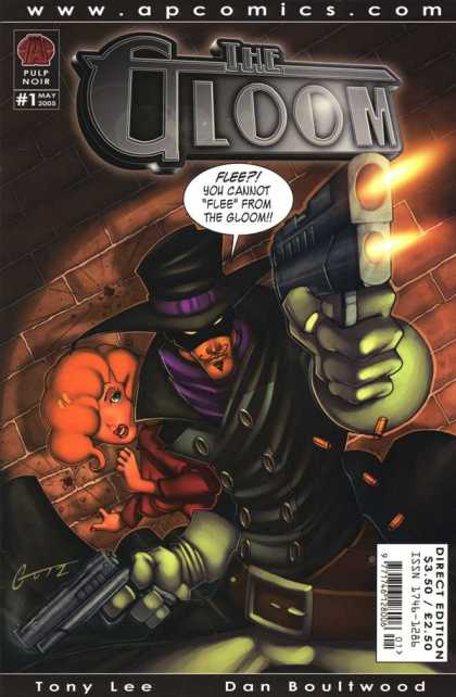 Gloom 1 - Pulp Noir - Ap Comics - Tony Lee - Dan Boultwood - Issue 1