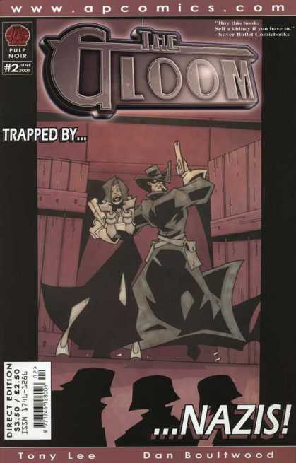 Gloom 2 - Dan Boultwood - The Gloom - Trapped By - Nazis - Tony Lee