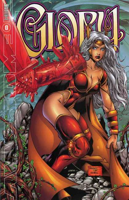 Glory 1 - Woman - Sword - Buxom - Red - Costume - Deodato Fiho, Joseph Linsner