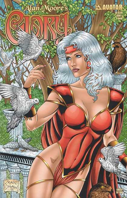 Glory 17 - Red - White - Doves - Birds - Hawk - Rob Liefeld
