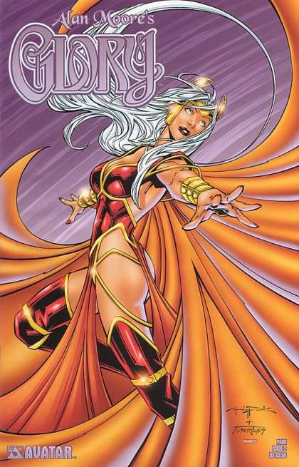 Glory 23 - Alan Moore - Avatar - Superwoman - White Hair - Boots