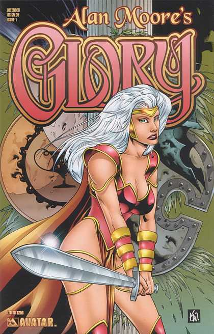 Glory 9 - Alan Moore - Woman