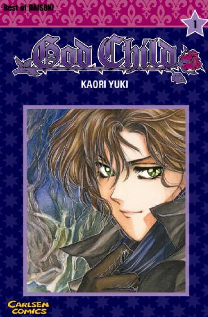 God Child 1 - Carlsen Comics - Kaori Yuki - Best Of Daisuki - Cape - Green Eyes
