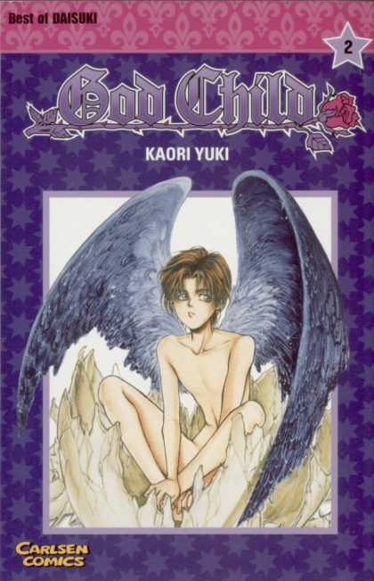 God Child 2 - Kaori Yuki - Wings - Rose - Egg Shell - Star