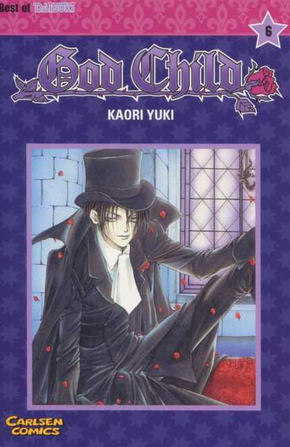 God Child 6 - Vol 6 - Kaori Yuki - Carlsen Comics - Top Hat - Falling Petals