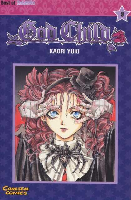 God Child 9 - Best Of Dasoki - Kaori Yuki - Carlsen Comics - Girl - Spider