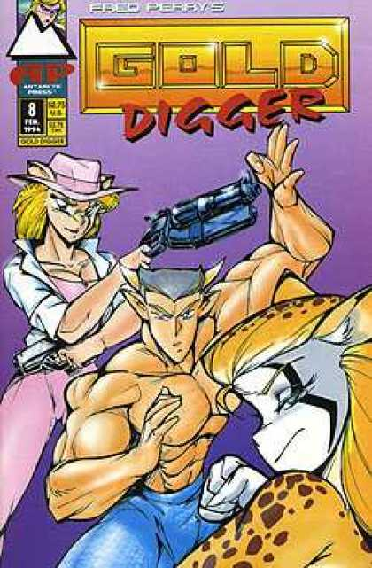Gold Digger 2 8 - Guns - Sexy Characters - Ripping Muscles - Odd Characters - Speed