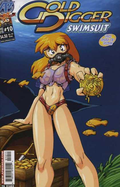Gold Digger Swimsuit Special 10