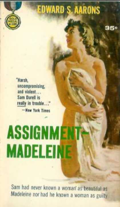 Gold Medal Books - Assignment - Madeleine - Edward S. Aarons
