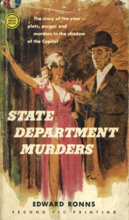 Gold Medal Books - State Department Murders: A Gold Medal Original - Edward Ronns