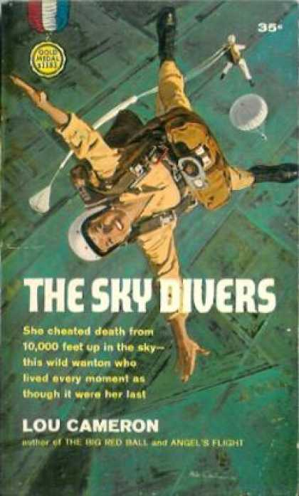 Gold Medal Books - Sky Riders - Lou Cameron