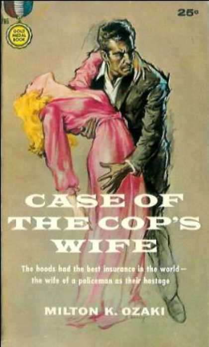 Gold Medal Books - Case of the Cop's Wife