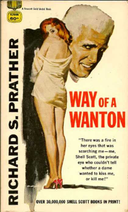 Gold Medal Books - Way of a Wanton - Richard S. Prather