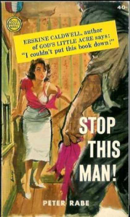 Gold Medal Books - Stop This Man!