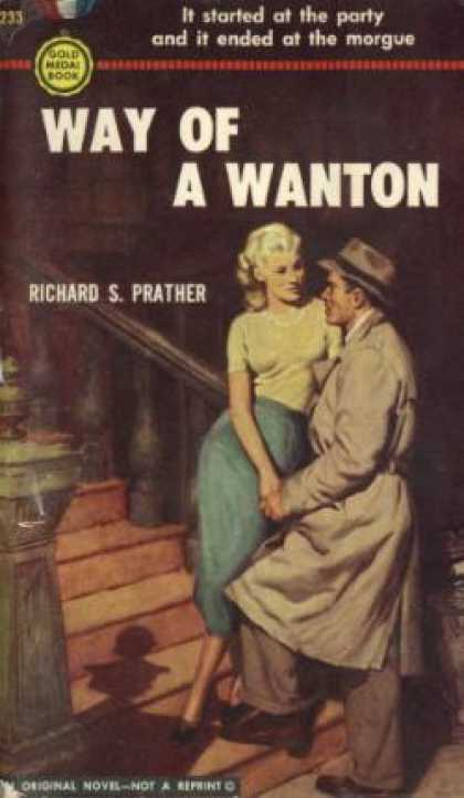 Gold Medal Books - Way of a Wanton - Prather. Richard S.