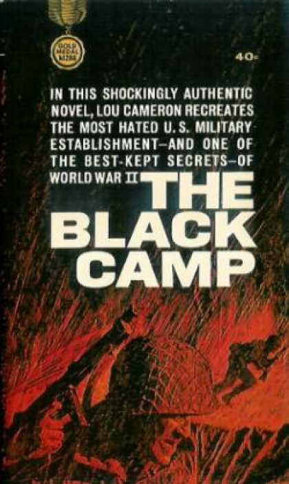 Gold Medal Books - The Black Camp - Lou Cameron