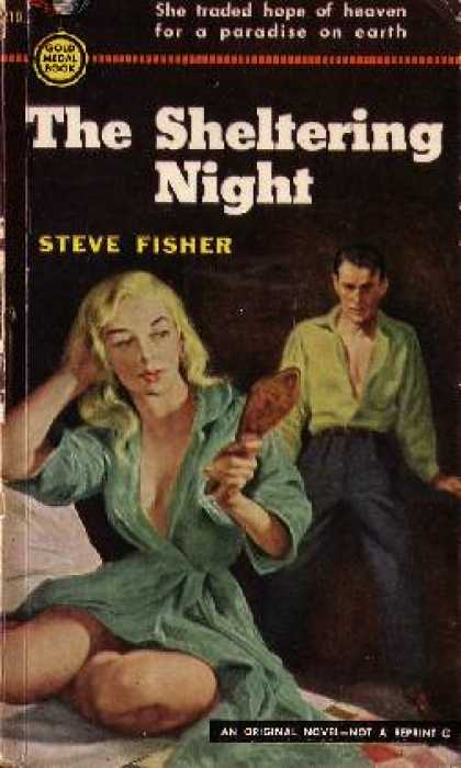 Gold Medal Books - The Sheltering Night - Steve Fisher