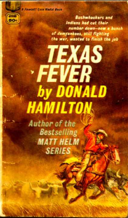Gold Medal Books - Texas Fever - Donald Hamilton