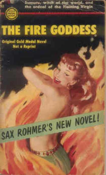 Gold Medal Books - The Fire Goddess - Sax Rohmer