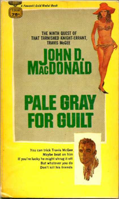 Gold Medal Books - Pale Gray for Guilt - John D. Macdonald