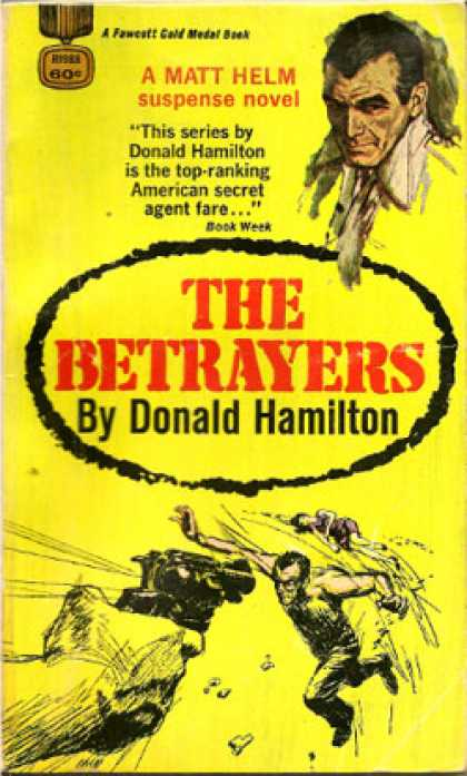 Gold Medal Books - The Betrayers - Donald Hamilton