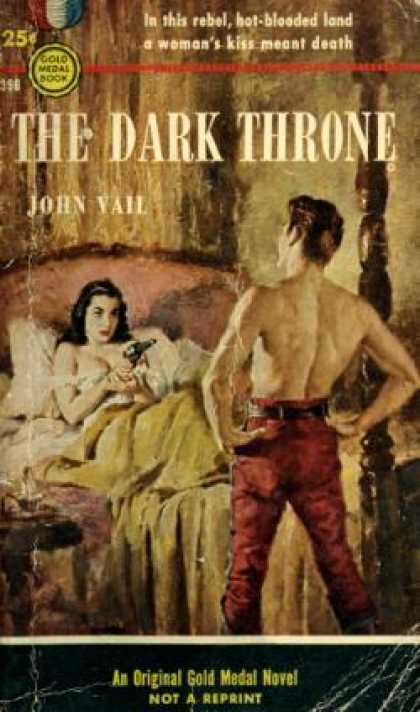 Gold Medal Books - The Dark Throne