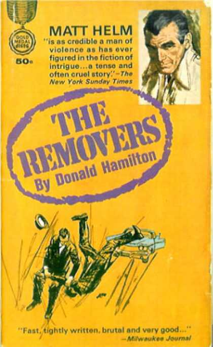 Gold Medal Books - The Removers - Donald Hamilton
