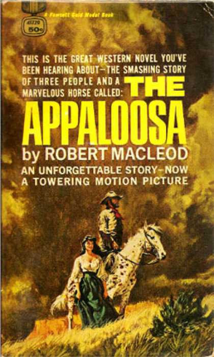 Gold Medal Books - Appaloosa - Robert Macleod