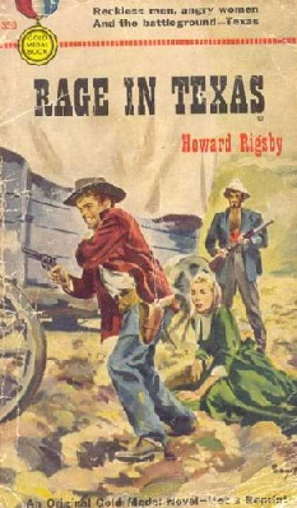 Gold Medal Books - Rage in Texas - Howard Rigsby
