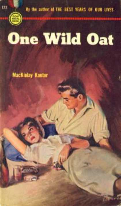 Gold Medal Books - One Wild Oat - Mackinlay Kantor