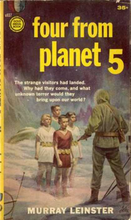 Gold Medal Books - Four From Planet 5 - Murray Leinster