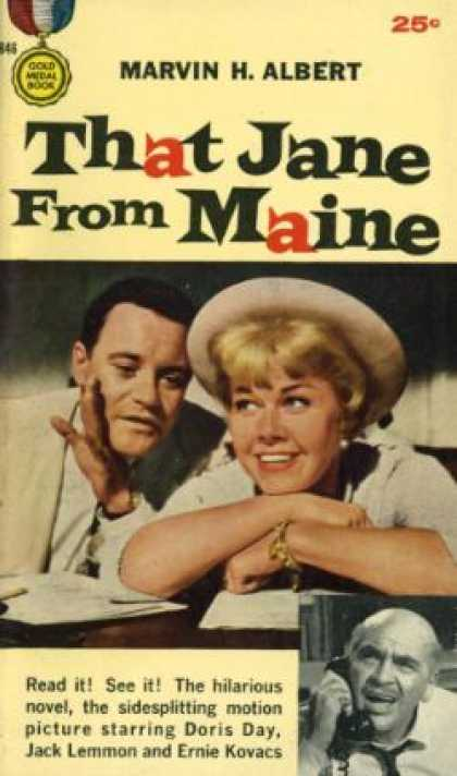 Gold Medal Books - That Jane From Maine