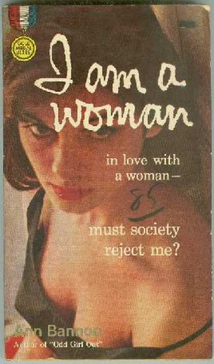 Gold Medal Books - *signed* I Am a Woman; In Love With a Woman-must Society Reject Me? Gold Medal #