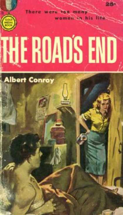 Gold Medal Books - The Road's End - Albert Conroy