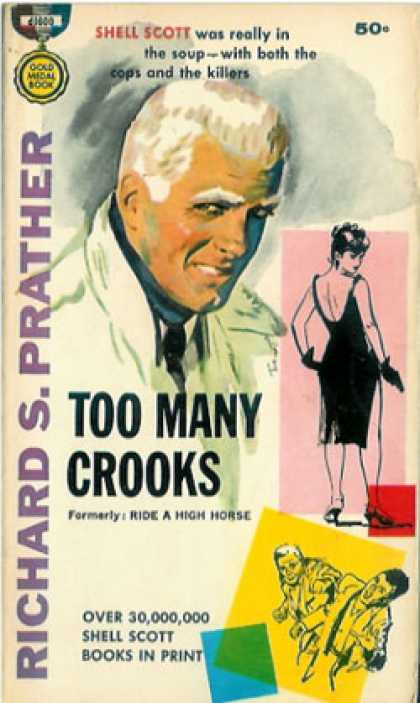 Gold Medal Books - Too Many Crooks a Shell Scott Mystery - Richard S. Prather