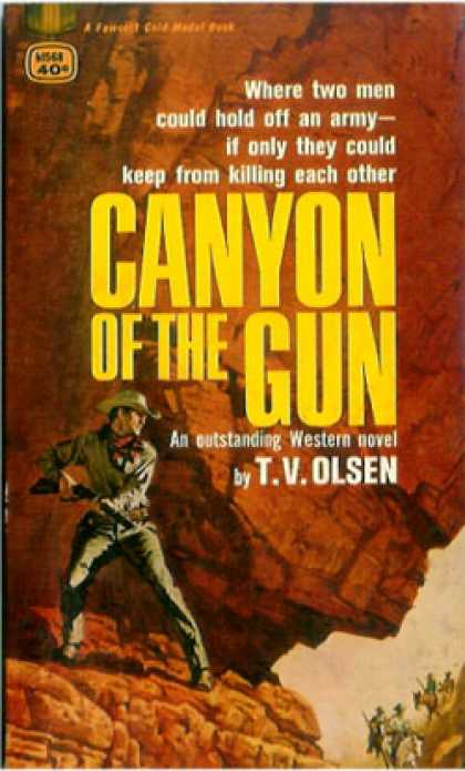 Gold Medal Books - Canyon of the Gun